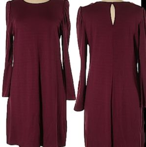 Old Navy Women Casual Burgundy Dress Size XL